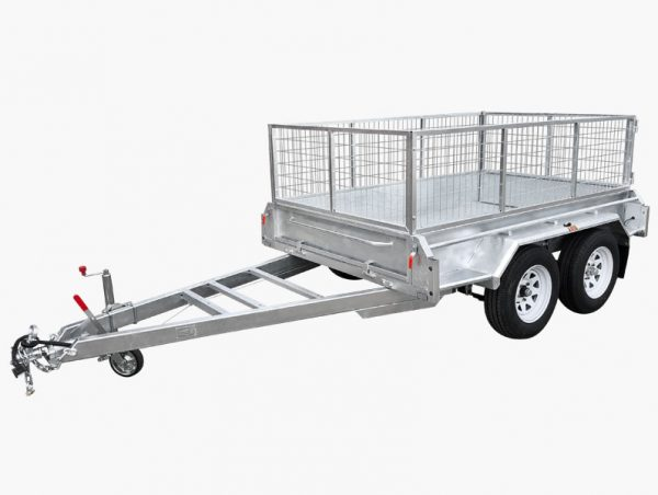 10 x 5 Tandem Trailer, Dual Axle, Heavy Duty, 300mm High Side