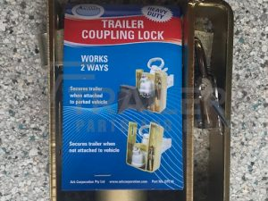 Trailer Coupling Lock