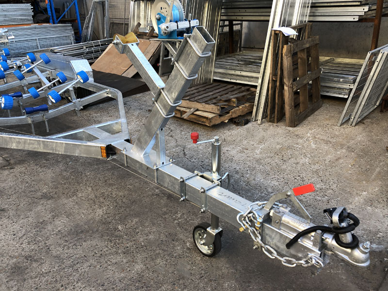 7m Wobble Roller Boat Trailer Suits Boats rated at 2000kg