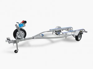 4.8m Skid Boat Trailer rated at 1200kg