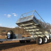 10 x 5 Hydraulic Tipping Trailer, Dual Axle, Heavy Duty, 3500kg ATM