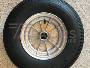 "10"" Alloy Integral Wheel Assembly"