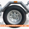 6.2m Wobble Roller Boat Trailer rated at 1500kg