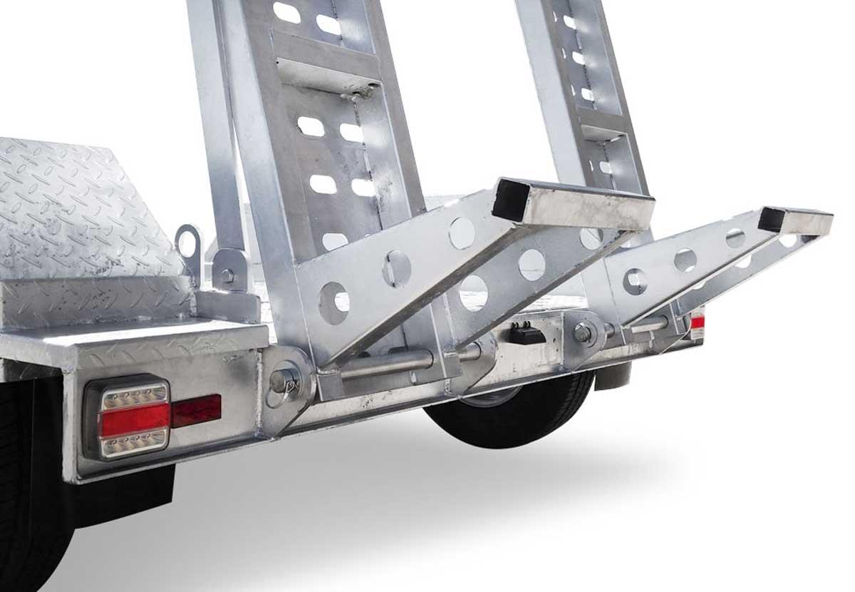 8 x 4 Scissor Lift/Plant Trailer 3500kg ATM