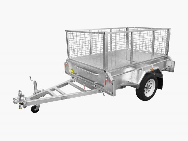 6 x 4 LIGHT WEIGHT Box Tipping Trailer (Fully Welded) 300mm High Side 750kg ATM