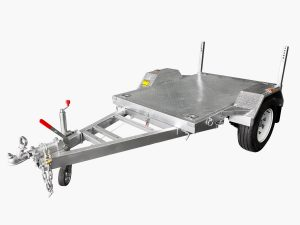 6 x 4 Flat Top Trailer 1200KG ATM