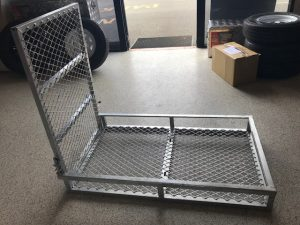 Mower Pad Galvanised Small Mesh