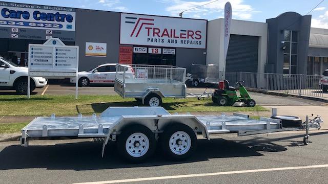 2.9 Tonne Car Trailer 4.8m x 2m