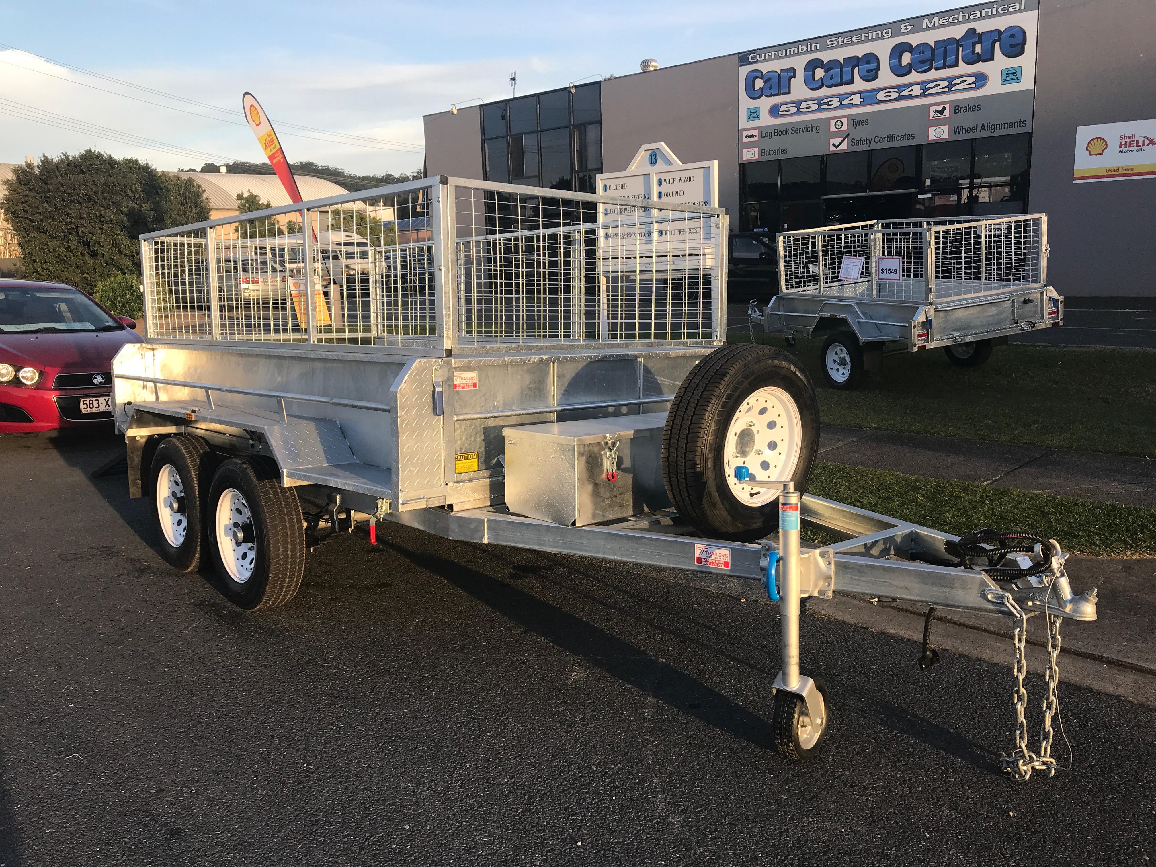 10 x 6 Hydraulic Tipping Trailer, Dual Axle, Heavy Duty, 3500kg ATM