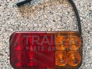 Rectangle LED Stop/Tail/Indicator/license/Reflector with 40cm Cable 'Plug and Play'