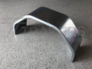 9'' Galvanised 14'' Rim, 805mm L x 395mm H 1.6