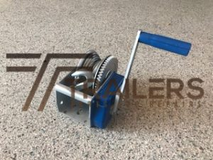 Winch 6mm x 8.0m Rope 900kg Pull Capacity