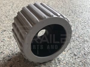 Ribbed Grey Wobble Roller 26mm Bore