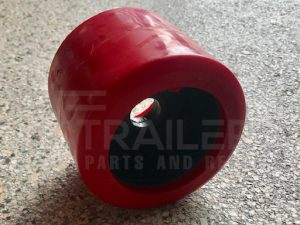 Smooth Red Wobble Roller 20mm Bore