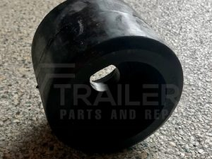 Smooth Black Wobble Roller 26mm Bore