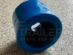 Smooth Blue Wobble Roller 26mm Bore