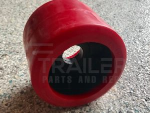 Smooth Red Wobble Roller 26mm Bore