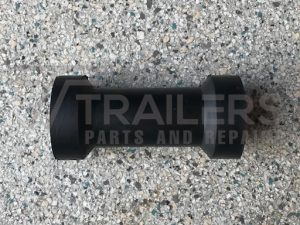 "6"" Keel Roller Black 17mm Bore"