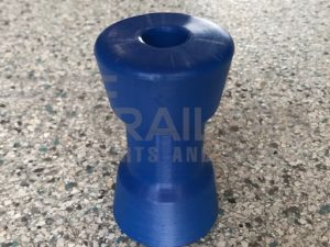"4"" Keel Roller Blue 17mm"