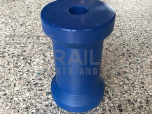 "4 1/2"" Keel Roller Blue 17mm"
