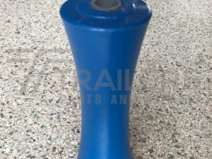 "8"" Concave Roller Blue 17mm Bore"