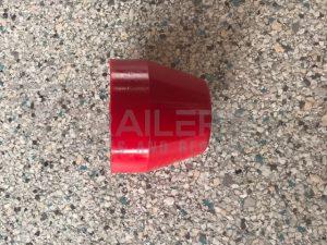"2.5"" Taper Cap Red 17mm Bore"