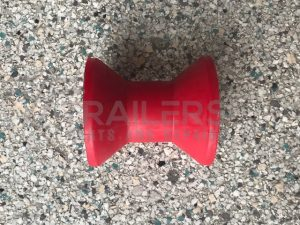 "3"" Bow Roller Red 17mm Bore"