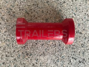 "6"" Keel Roller Red 17mm Bore"