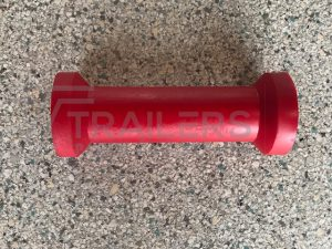 "8"" Keel Roller  Red 17mm Bore"