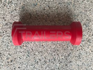 "8"" Keel Roller  Red 21mm Bore"