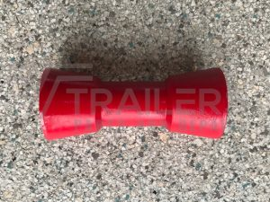 "6"" Sydney Roller Red 17mm Bore"