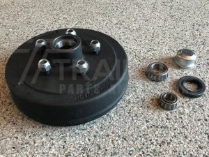 "9"" Ford Mechanical/Hydraulic Drum with LM Bearings"