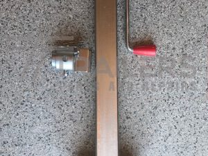 Trailer Jack Stand with Side Bracket 2500kg Load Capacity
