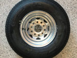 10'' Galvanised multi fit rim suit HT and Ford wheel with 500 x 10 Tyre