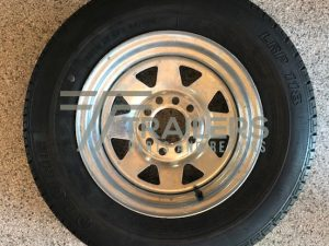 13'' Galvanised Multi Fit Rim suit HT and Ford wheel with 165 Light Truck Tyre (165R13LT)
