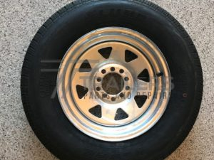 14'' Galvanised Multi Fit Rim suit HT and Ford wheel with 185 Light Truck Tyre (185R14LT)