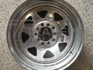 "14"" Multi Fit HT/Ford Galvanised"