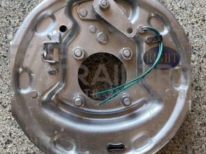 """10"""" Galvanised Backing Plate - Right Side"""