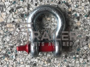 Galvanised 1000kg Rated Bow Shackle 10mm