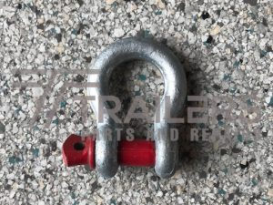Galvanised 2000kg Rated Bow Shackle 13mm