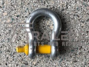 Galvanised 4750kg Rated Bow Shackle 18mm