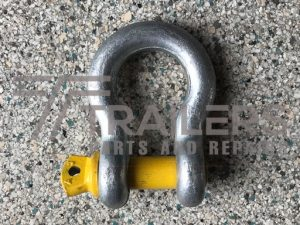 Galvanised 6000kg Rated Bow Shackle 22mm