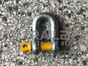 Galvanised 750kg Rated Dee Shackle   8mm