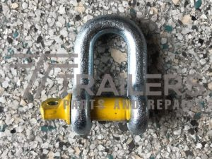Galvanised 1500kg Rated Dee Shackle 11mm