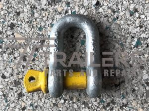 Galvanised 2000kg Rated Dee Shackle 13mm