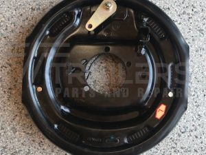 12'' Electric Backing Plate with Hand brake lever - Left
