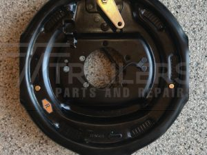 12'' Electric Backing Plate with Hand brake lever - Right