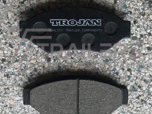Hydraulic Brake Pads to suit AL-KO and Trojan