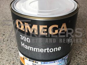 Hammertone 390 Industrial Paint 4L Tin Silver