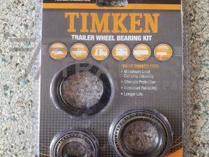Timken Trailer Wheel Bearing Kit Ford Axle Standard Seal Blister Pack